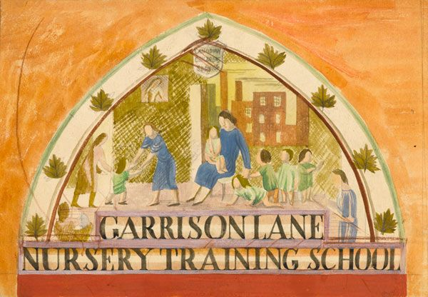 Mary-Adshead: Garison-Lane-Nursery-Training-School,-circa-1930