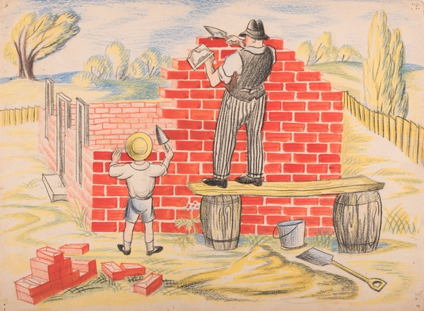 Mary-Adshead: The-Little-Boy-and-His-House,-1936