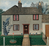 Artist Tirzah Garwood-Ravilious: House at Great Bardfield, 1945