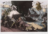 Paintings by the artist Paula Rego