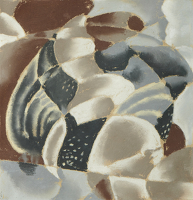 Artist Edith Granger-Taylor: Small Grey Abstract, c. 1934