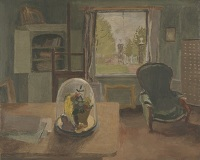 Artist Mary Potter: Country Studio, 1944